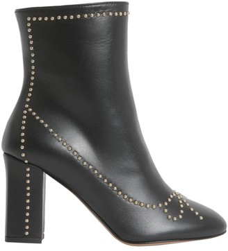 Boutique Moschino Studded Ankle Boots
