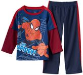 "Spiderman Go Spidey!"" Mock-Layer Tee & Pants Set - Toddler Boy"