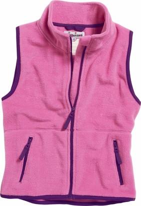 Playshoes Girl's Color Fleece Vest