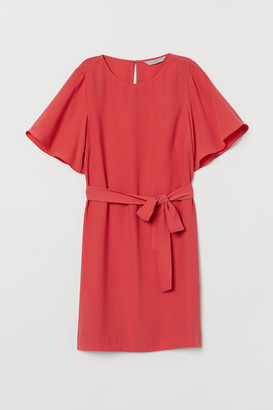 H&M Tie Belt Dress