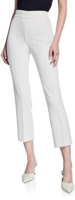 Max Mara Guglia Cady Side Zip Pants
