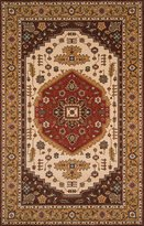 "Momeni Rugs PERGAPG-03COO96D0 Persian Garden Collection, 100% New Zealand Wool Traditional Area Rug, 9'6"" x 13'"