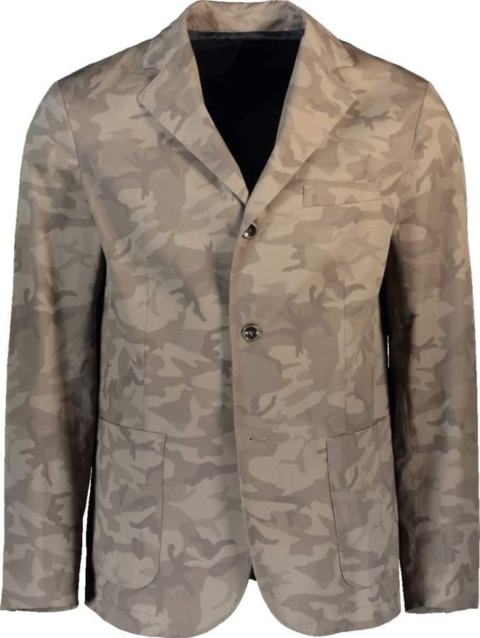 Eleventy Camo Jacket