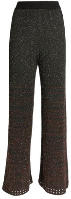 M Missoni Sequinned Wide-Leg Trousers