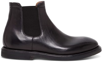 Silvano Sassetti Beatles Ankle Boot In Leather