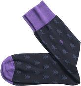Johnston & Murphy Skull & Crossbones Socks