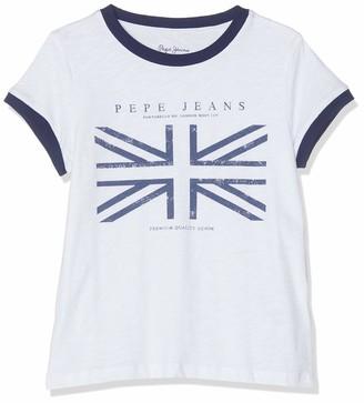 Pepe Jeans Girl's Alberta Pg502203 T-Shirt