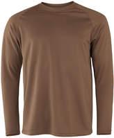 Asstd National Brand Military Fleece Crew Neck Long Sleeve Thermal Shirt