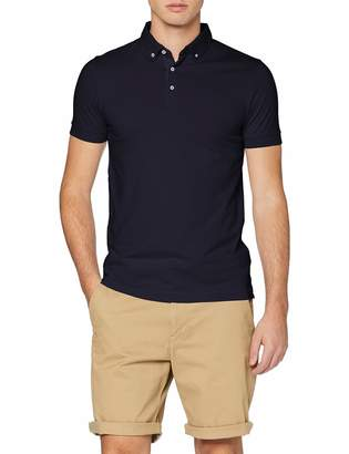 French Connection Men's Summer Contrst Surprise Polo T- Shirt
