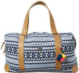 Swell Tapestry Duffle Bag Blue