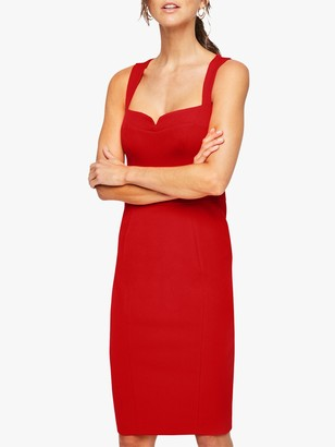 Damsel in a Dress Vida Fitted Dress, Red