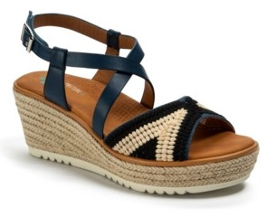 Bare Traps Baretraps Ethel Posture Plus+ Platform Wedge Sandals Women's Shoes