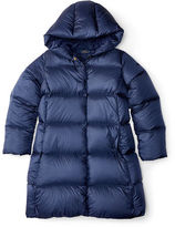 Ralph Lauren Channel-Quilted Down Coat