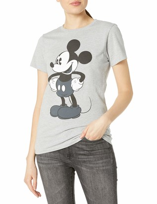 Disney Women's Tonal Mickey Graphic T-Shirt