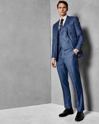 Ted Baker Debonair Slim Wool Suit Trousers