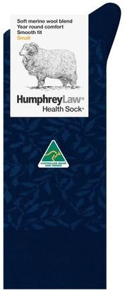 Humphrey Law Merino Wool Blend Health Sock 85CO5 Denim 3-8