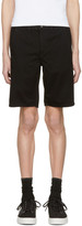 Rag & Bone Black Standard Issue Shorts