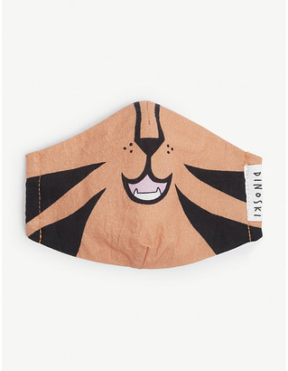 Dinoski Kids Tiger three-layer face covering 3-16 years