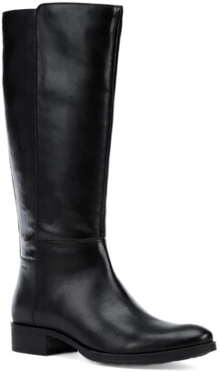 Geox Lacey Tall Leather Boot