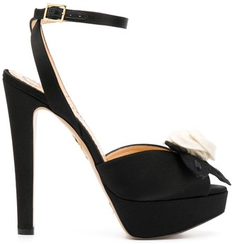 Charlotte Olympia Open Toe High Heeled Sandals