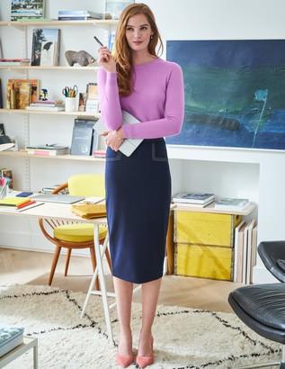 Sedley Topstitch Pencil Skirt