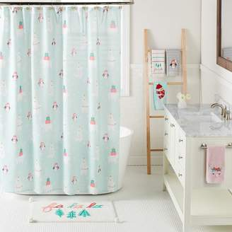 Lauren Conrad Snow Buddies Shower Curtain