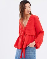 Jennifer V-Neck Blouse
