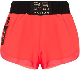 P.E Nation Rebuild running performance shorts