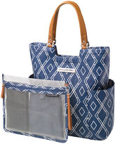 Tailored Tote With Changing Kit