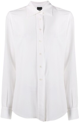 Aspesi Relaxed-Fit Long Sleeve Blouse