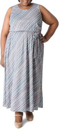 Sandra Darren Sleeveless Maxi Dress