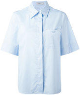 Lanvin boxy short sleeved shirt