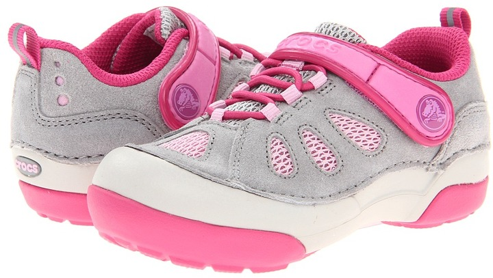 Crocs Washable Suede Sneaker PS (Toddler/Little Kid)