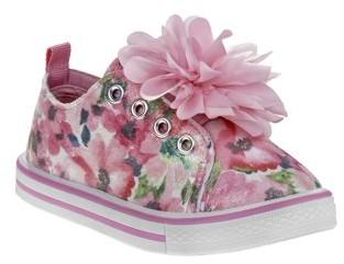 Laura Ashley Flower Power 3D Slip-On Sneaker (Toddler Girls)