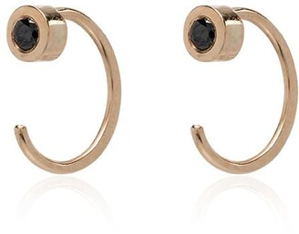 Melissa Joy Manning Black Tourmaline Earrings