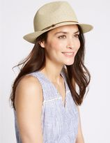 Marks and Spencer Trilby Summer Hat