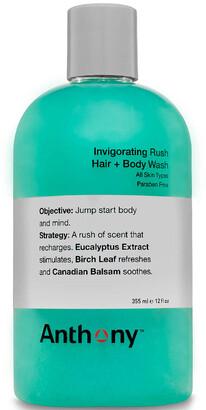Anthony Logistics For Men Invigorating Rush Hair and Body Wash 355ml
