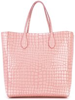 Rochas crocodile effect shopper
