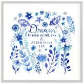 Pottery Barn Teen Dream Blue, Wall Art by Minted®, 44 x 44, Gray