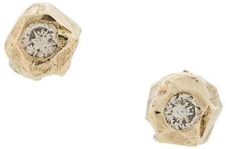 Ellis Mhairi Cameron 14kt gold VI diamond stud earrings