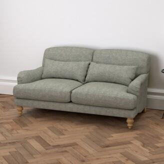 The White Company Petersham 3 Seater Sofa Tweed, Tweed Mid Grey, One Size