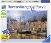 Ravensburger Ships Aglow Puzzle - 500 Pieces