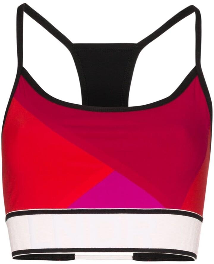 LNDR Beach Run colour-block sports bra