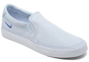 Nike Women's Court Legacy Slip-On Casual Sneakers from Finish Line