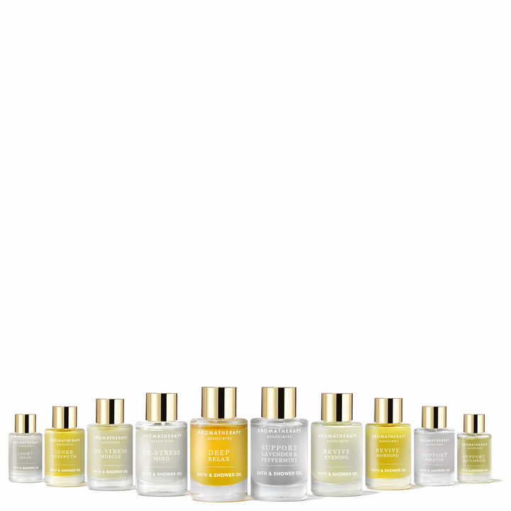 Aromatherapy Associates Ultimate Bath and Shower Oil Collection (Worth 110.00)