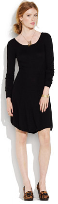 Madewell Something else by natalie wood ribbed panel dress