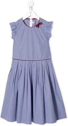 Familiar Gingham-Print Dress
