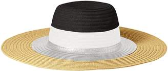 Collection XIIX Ltd. Women's Multi Stripe Floppy Hat