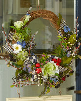 Mackenzie Childs MacKenzie-Childs Berries & Blossoms Wreath