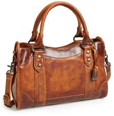 Frye 'Melissa' Washed Leather Satchel - Brown